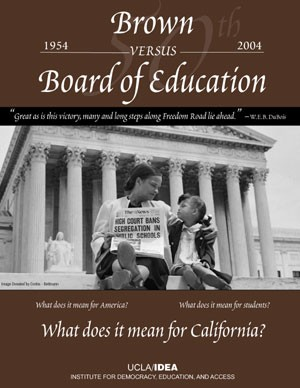 What are your thoughts on the Board vs. Brown Education?